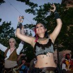 Danse tribale à Provins 2012 avec Arté