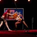 Performance Combat des Héroïnes à Geekopolis